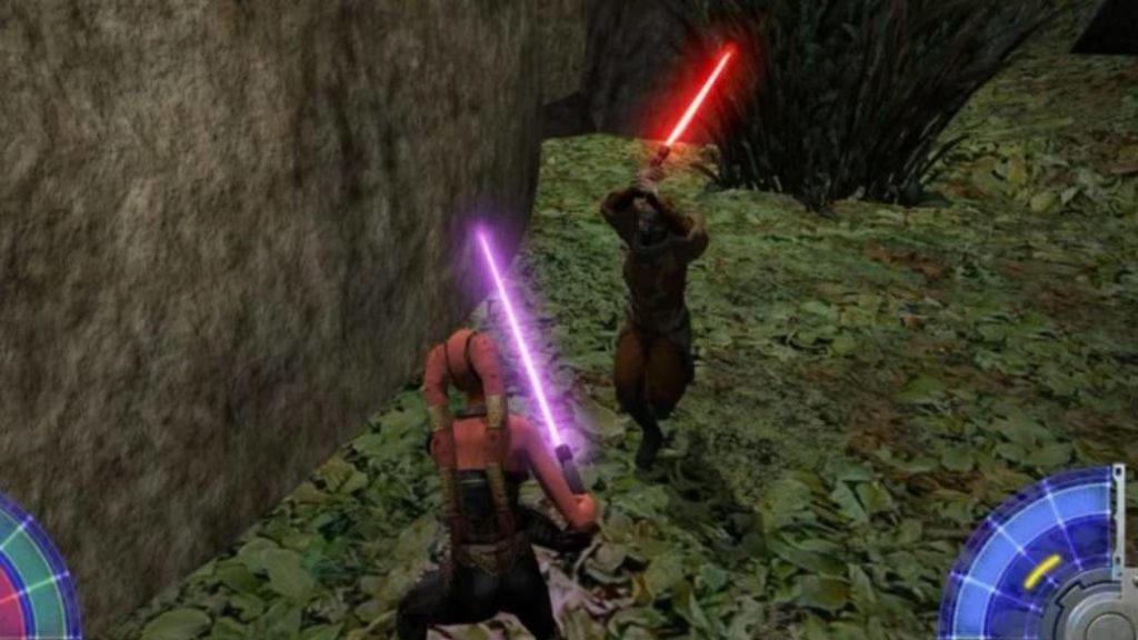 Star Wars JK: Jedi Academy allows cross-gameplay between consoles and PC by mistake