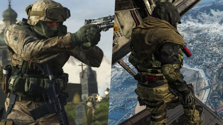 Call of Duty: Warzone and Modern Warfare, with double experience during the weekend