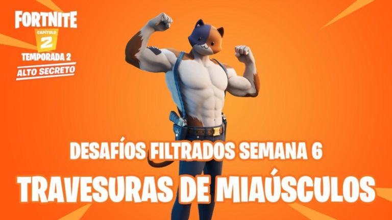 Fortnite: leaked challenges of Miaúsculos Mischief Week 6