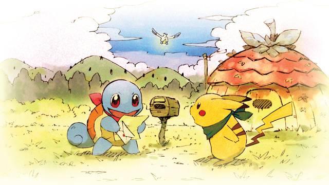 Pokémon Mysterious World: DX rescue team