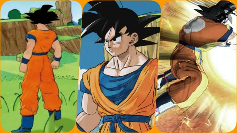 This is how Dragon Ball Z: Kakarot originally looked original: artistic change