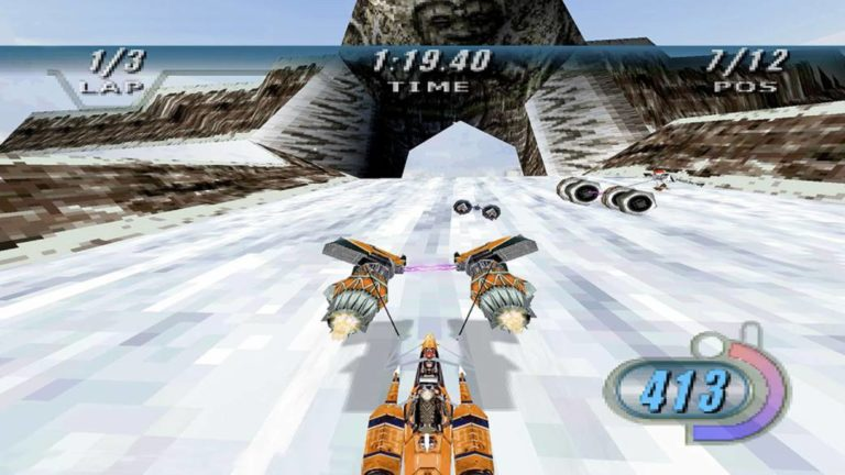 The team after Star Wars Episode I: Racer promises to have improved control