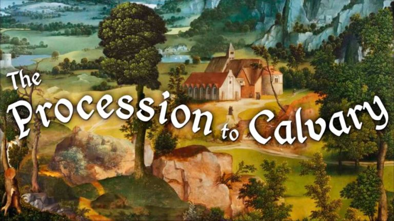 The Procession To Calvary: the funniest joke of the renaissance