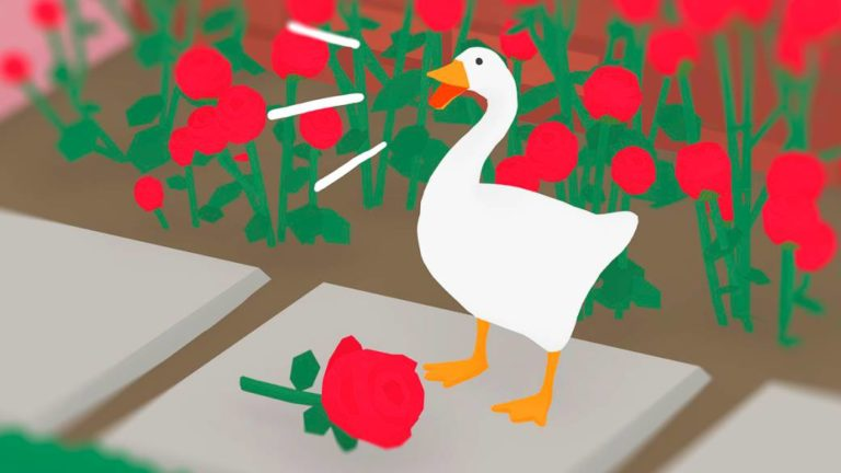 How Untitled Goose Game became a symbol on the left