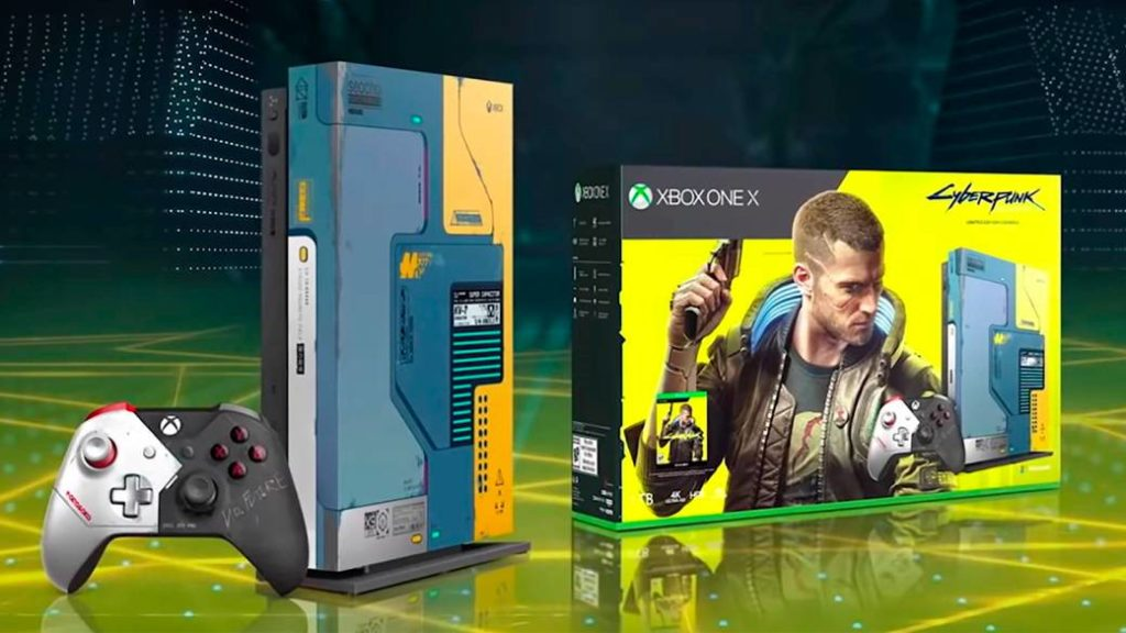 This is the Xbox One X special edition Cyberpunk 2077: date confirmed