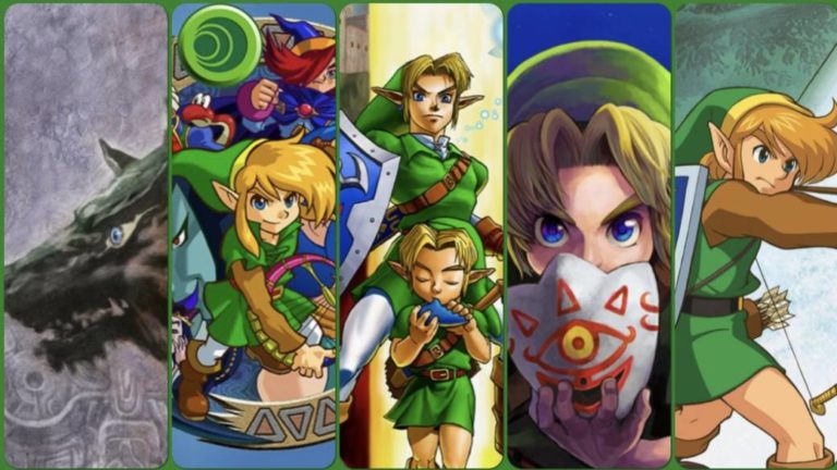 The 10 best games of The Legend of Zelda