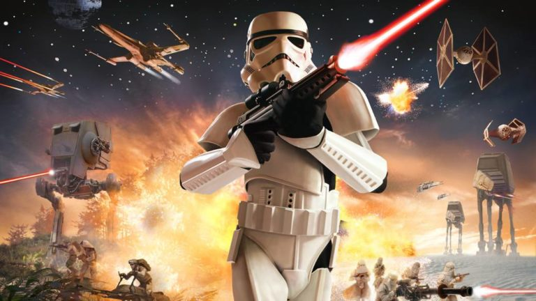 The classic Star Wars Battlefront returns to online on Steam