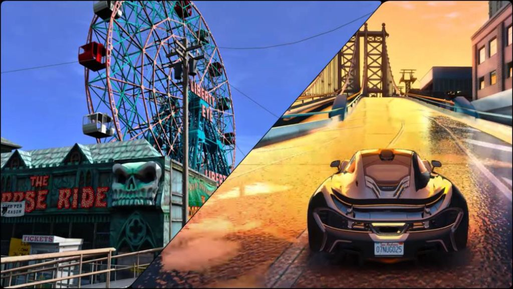 Grand Theft Auto IV with GTA 5 engine: amazing 4K mod ...