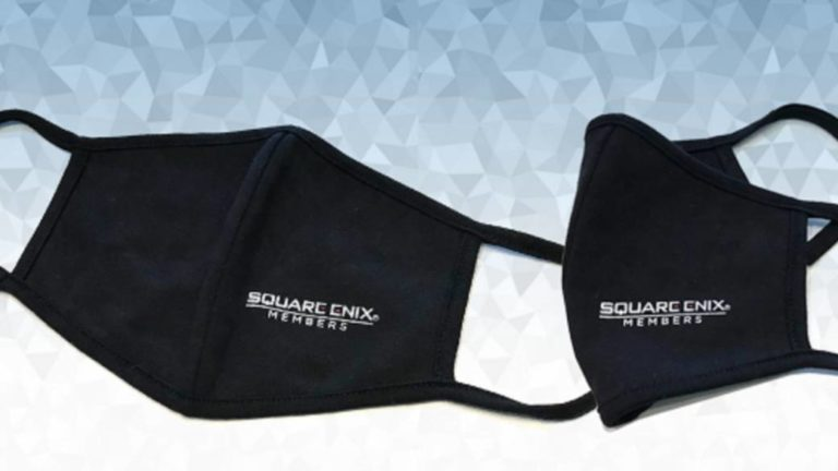 Coronavirus: Square Enix gives away masks if you spend $ 100 at their store