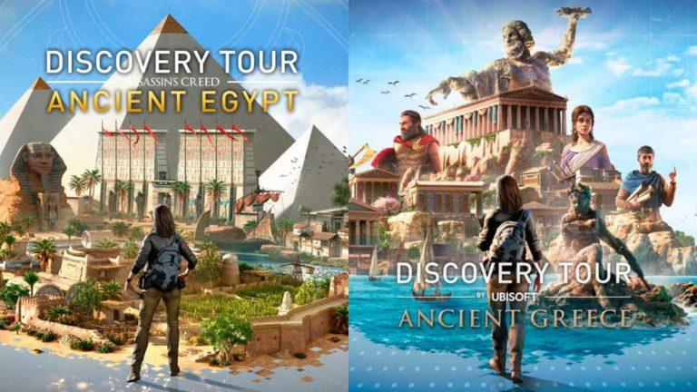 Ubisoft gives away Discovery Tour modes for Assassin's Creed Origins and Odyssey