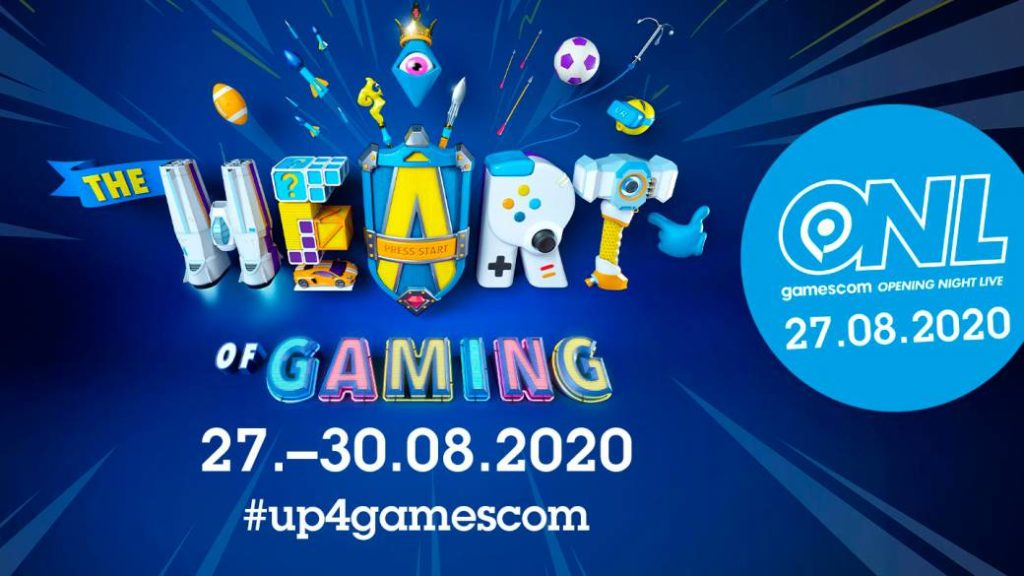 Gamescom 2020 and Opening Night Live date their digital events
