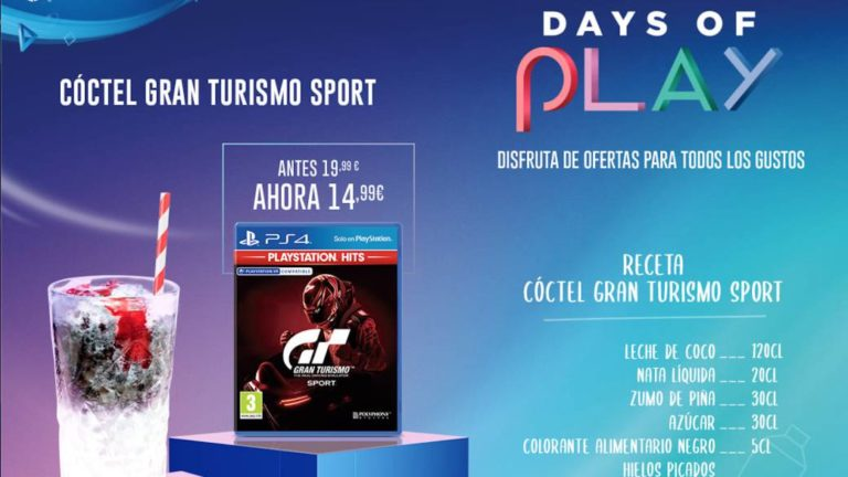 """Online test to find out which is the """"ideal cocktail"""" for the PS4 Days of Play"""
