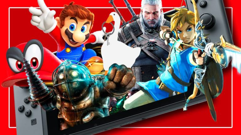 Nintendo Switch: play your favorite video games whenever and wherever you want