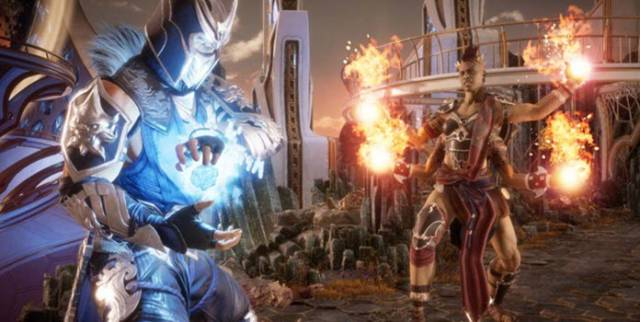 Fighting games Mortal Kombat 11