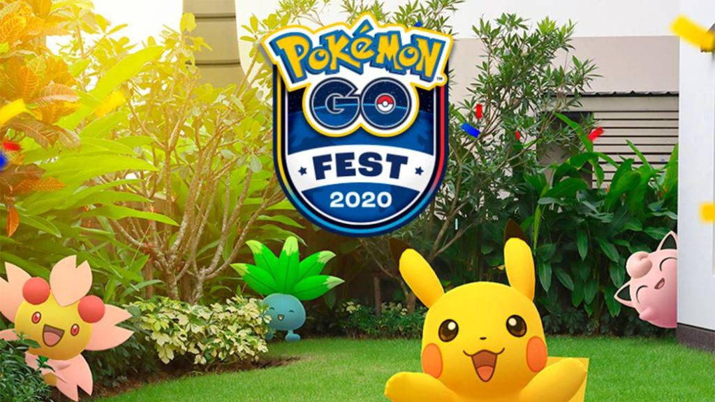 The Pokémon GO Fest 2020 already has dates and will be held only online