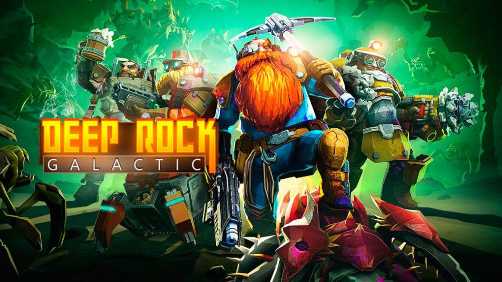 Deep Rock Galactic, excellent space cooperative action