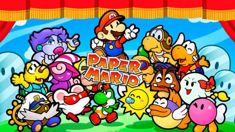 Folds and Folds: The thousand faces of Paper Mario