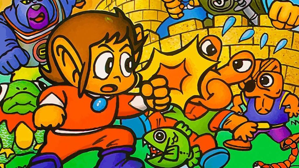 Alex Kidd in Miracle World, the mascot that was not