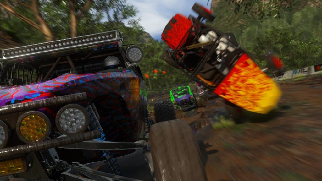 DIRT 5, impressions: first contact with the mud