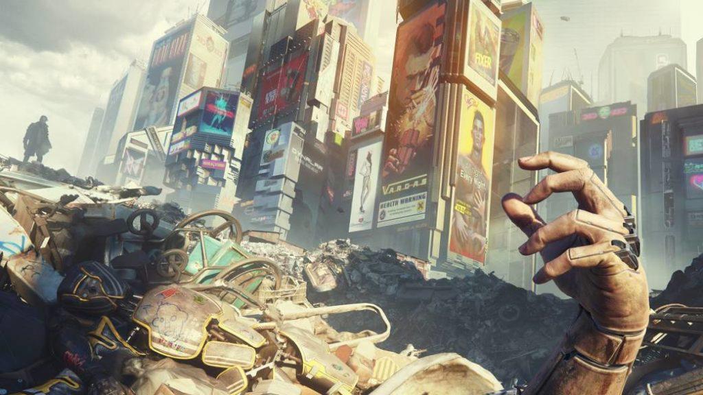 Cyberpunk 2077, prints. Welcome to Night City