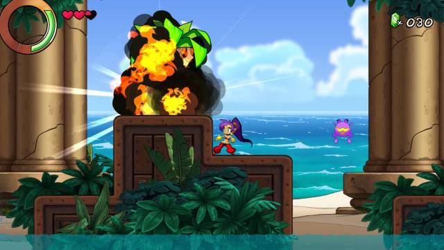Shantae And The Seven Sirens Shantae Wayforward Technologies indie PC Windows PS4 Nintendo Switch Xbox One iOS platformer dancer humor comedy