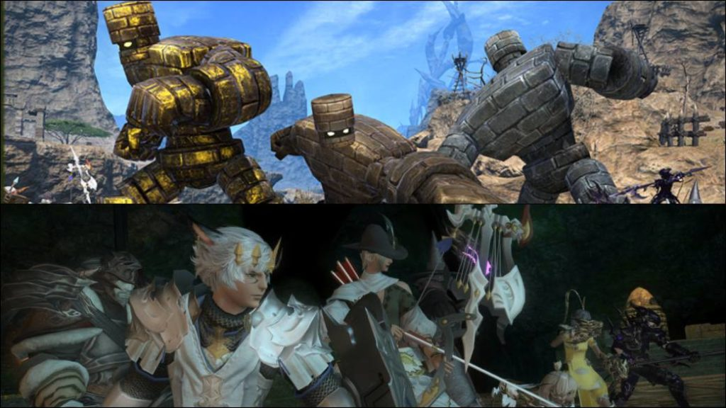 Final Fantasy XIV will host a Dragon Quest X event next July