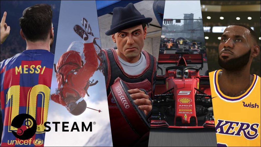 Summer deals on Steam: 10 sports games to continue the season