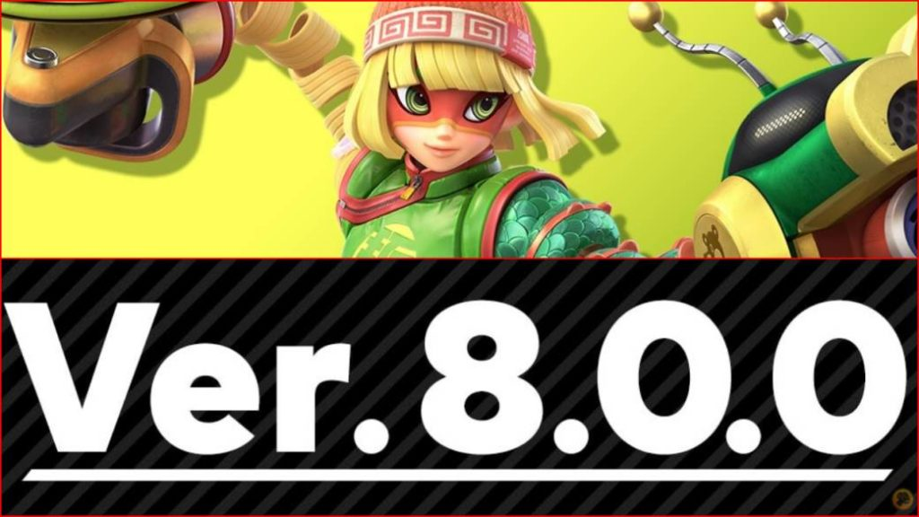 Super Smash Bros. Ultimate is updated to version 8.0.0; Min Min arrives (ARMS)