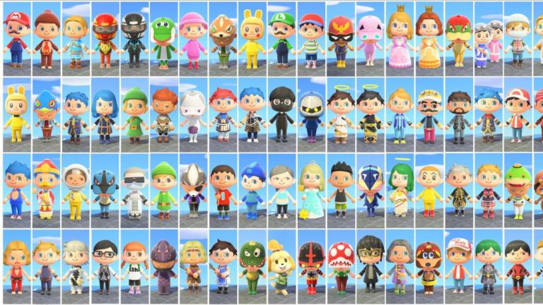 Animal Crossing: New Horizons | A fan recreates the fighters from Super Smash Bros. Ultimate