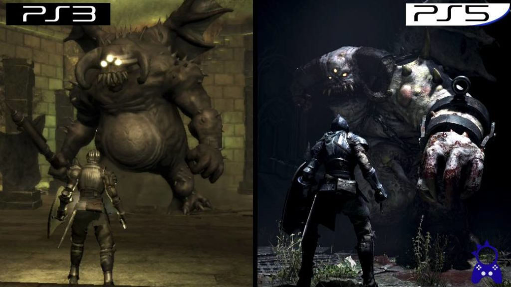 Demon's Souls Remake (PS5) vs Demon's Souls (PS3): they compare ...