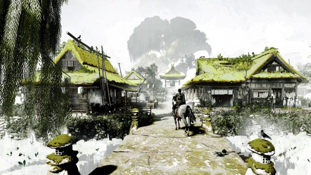 Ghost of Tsushima shares several conceptual arts of the video game