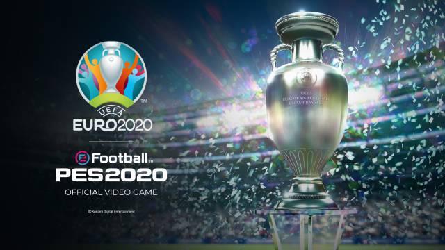 UEFA EURO 2020 at PES 2020