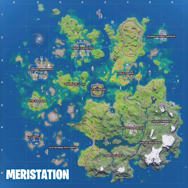 fortnite episode 2 season 3 island map water changes