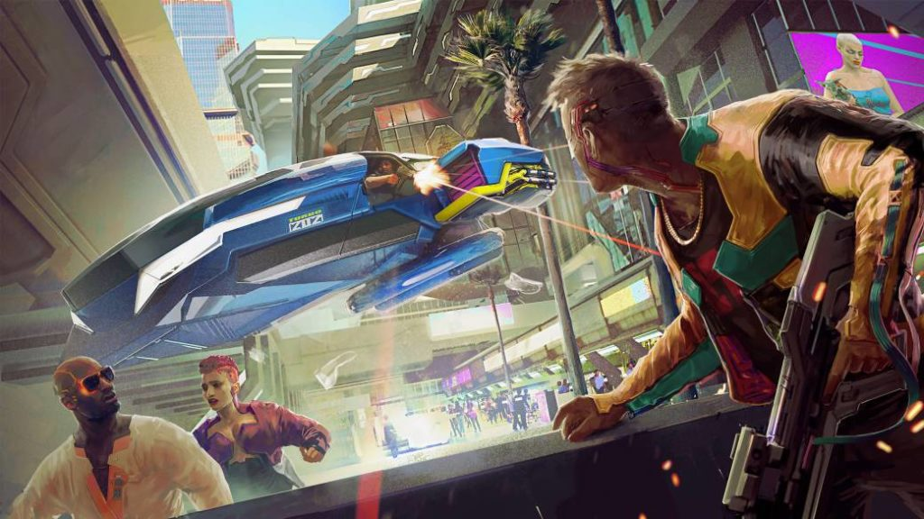 Cyberpunk 2077 removes an announced feature: goodbye to running on the walls