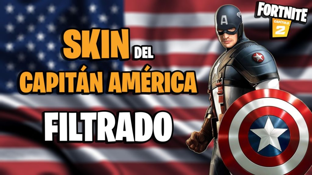 Fortnite: leaked Captain America skin; everything we know