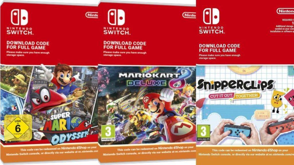 Nintendo will stop selling digital game codes in European stores