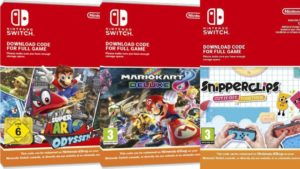 Nintendo will stop selling digital game codes in European stores