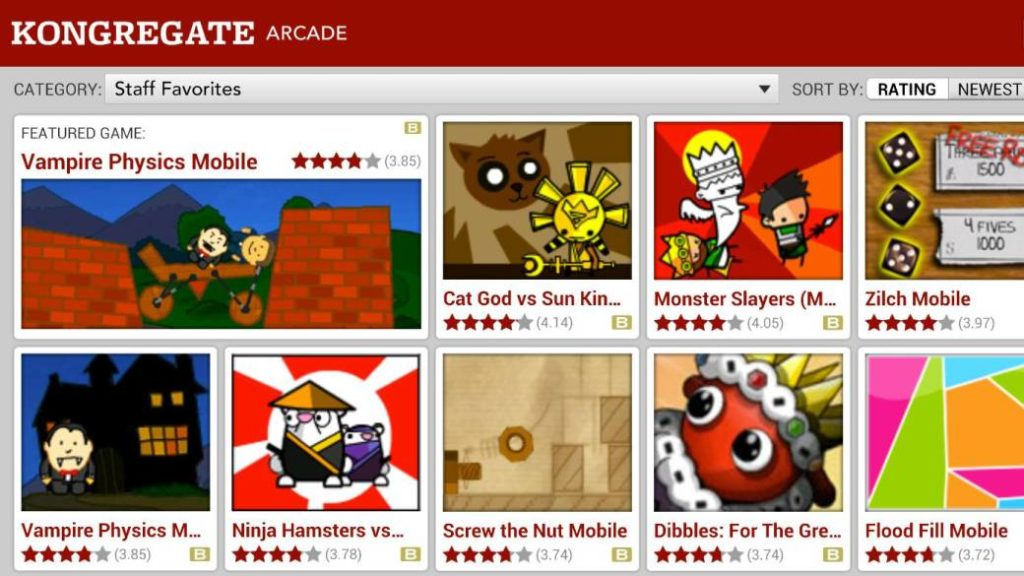 Kongregate, in difficulties. Layoffs and closure to new games