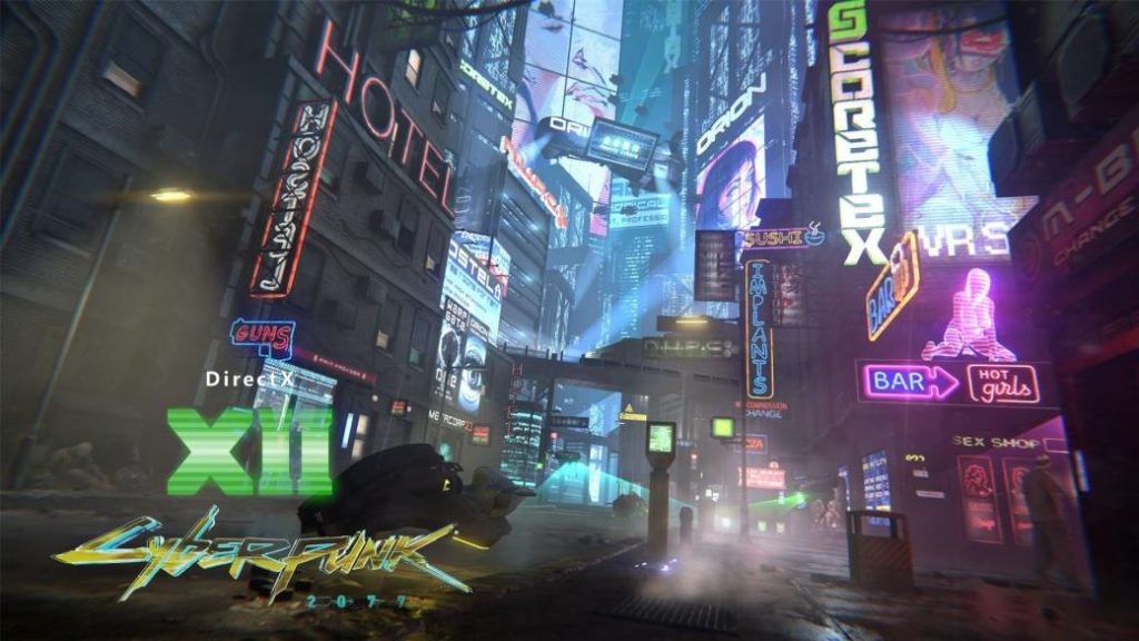 Cyberpunk 2077 will only support DX12 on PC