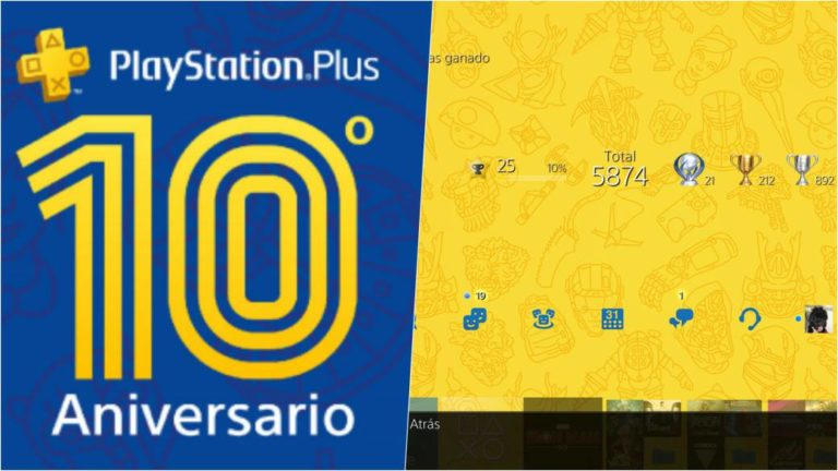 Get a free PS4 theme for the tenth anniversary of PlayStation Plus