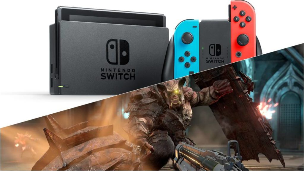 """The Doom Eternal version on Nintendo Switch will be """"as good as Doom 2016"""""""