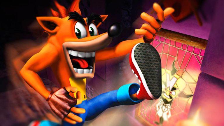 Crash Bandicoot, the birth of the PlayStation mascot
