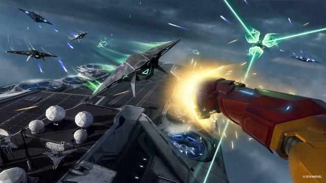Marvel's Iron Man VR impressions PS4 PSVR preview