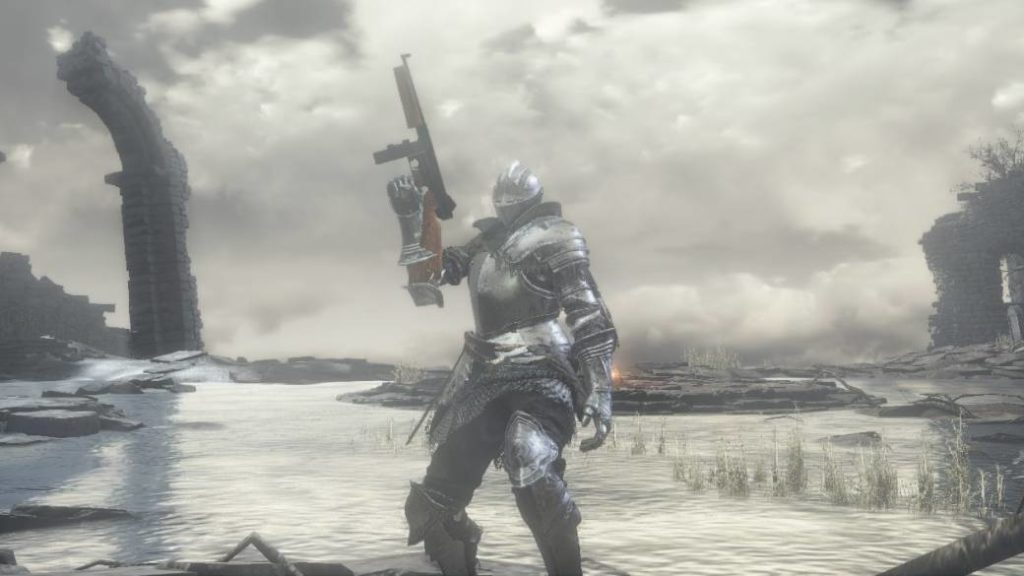 Dark Souls 3 is easier with a machine gun