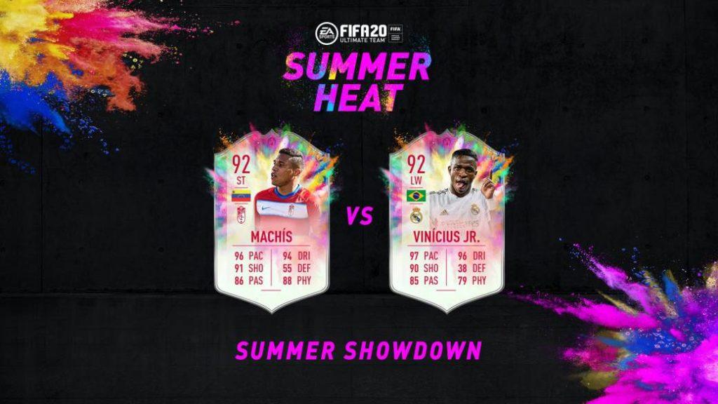 Vinícius Júnior Vs Darwin Machís, FIFA 20 duel at the Summer Showdown