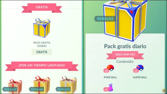 Pokémon GO Pack Free Daily