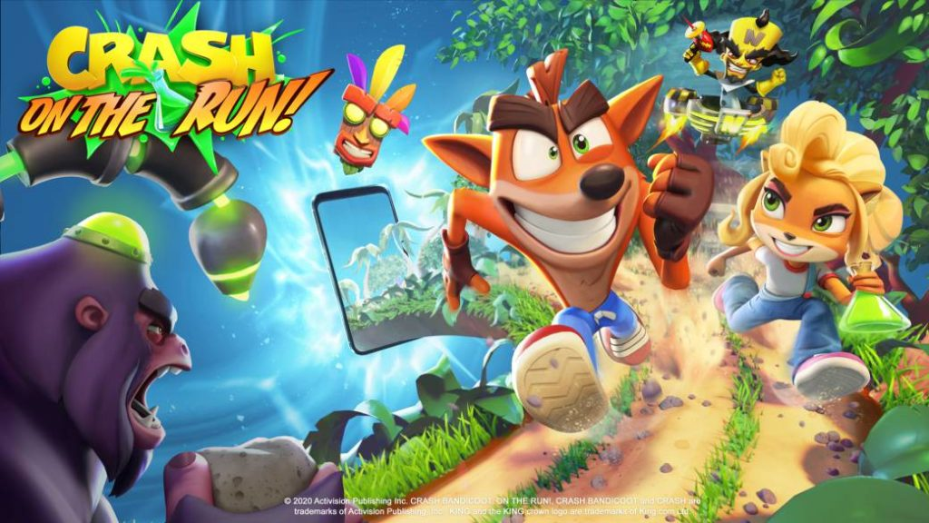 Crash Bandicoot: On the Run! announced for mobile devices
