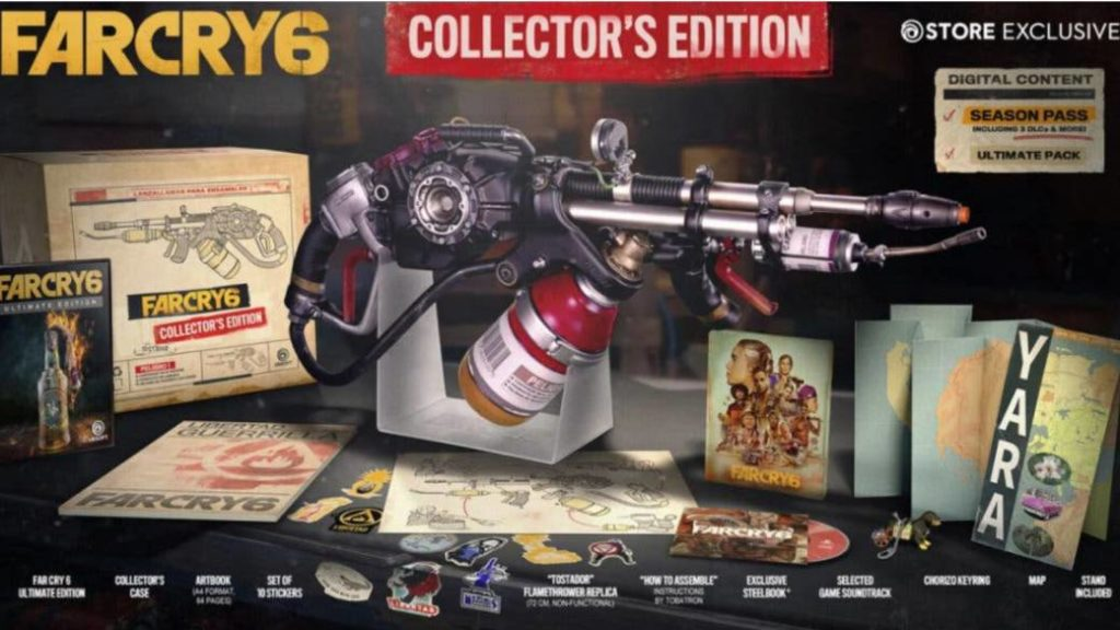 Far Cry 6: Collector's Edition and Special Announced; price, content and extras