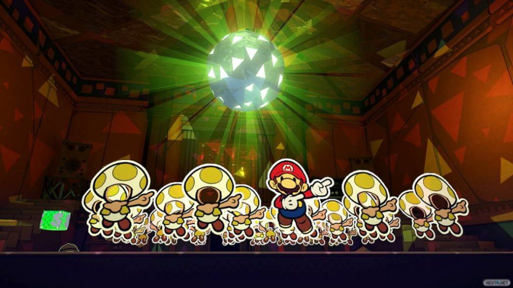 Paper Mario: The King of Origami, the main national and international notes
