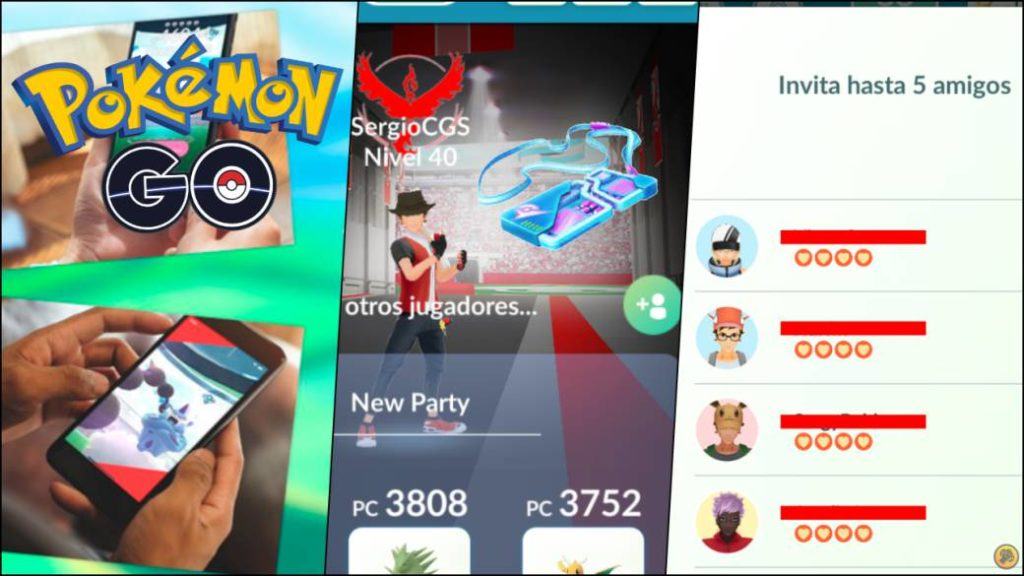 Pokémon GO updates: how to invite friends to remote raids